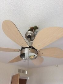 Free - fan light - collection only