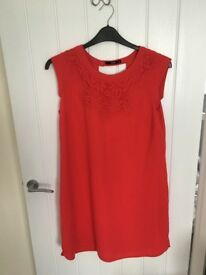 Size 14 Oasis red dress