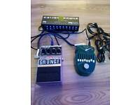 Digitec grunge pedal, Danelectro fish and chips