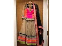 Beautiful indian wedding lehenga choli