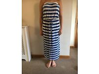 NEW WITH TAGS NEXT SIZE 10 MAXI DRESS