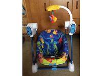 Fisher Price Ocean Wonders Baby Swing and Seat