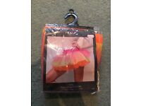 Brand new multicoloured tutu, one size fits all