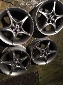 "for sale 4x16"" alloy wheels for toyota, fit other cars"