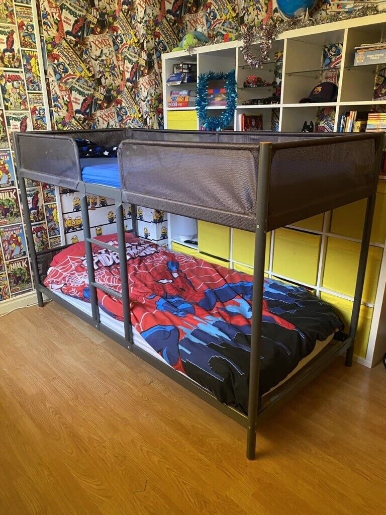 Picture of: Bunk Beds Ikea Tuffing Bunk Bed Frame Excellent Condition In Glenrothes Fife Gumtree