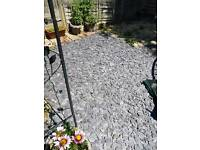 Large quantity of.blue slate