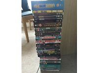 Collection of DVDs including box sets.