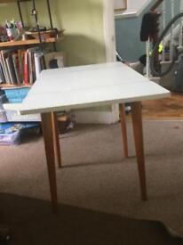 Vintage Melamine Table with drop down sides