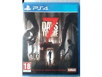 PS4 GAME 7 DAYS TO DIE EXCEL. CONDT.