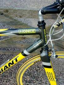 Giant Once racing bike.
