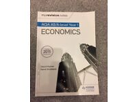 AQA AS/A-Level Year 1 Economics (My Revision Notes)