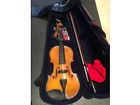 Full size student violin (Stentor 2) for sale - nearly new