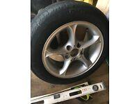 205 55 r 16 BMW alloy wheel