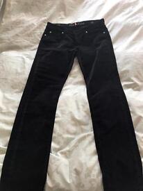 M.I.H. Designer velvet jeans size 12