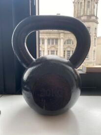 20kg cast iron kettlebell