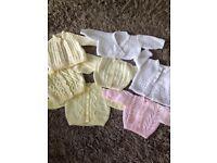 Beautiful Girls Knitted Bundle x 7 - Brand New - Newborn