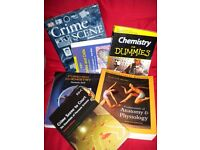 Student textbooks Forensic Science / chemistry / biology