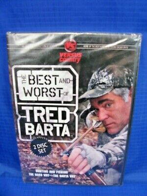 THE BEST AND WORST OF TRED BARTA Hunting Fishing Hunter Fisherman DVD SET (The Best And Worst Of Tred Barta)