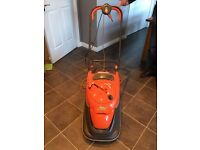 Flymo Vision Compact 330 Hover Lawn Mower Hardly Used