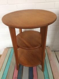 Stained Pine Wood Occasional Table