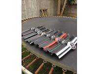 vw golf mk4 front grill in various colours