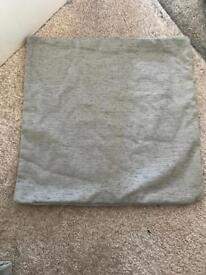 Grey cushion covers x 5 new