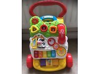 VTech First steps baby walker, with phone!!