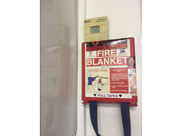 Fire extinguishers (CO2 and foam) & Fire blanket