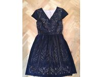 Beautiful Oasis Black Lace Dress (Excellent Condition/only worn once)