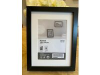 22 Black Ikea Ribba frames (18x24cm) Like new