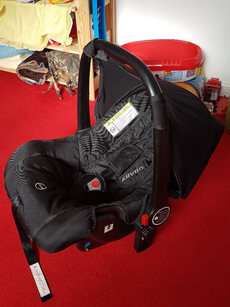 Obaby Zezu Car Seat, group 0+ | in Crewe, Cheshire | Gumtree