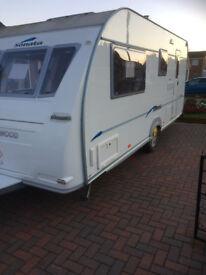 For sale a 2006 Fleetwood Sonata 4 berth caravan excellent condition
