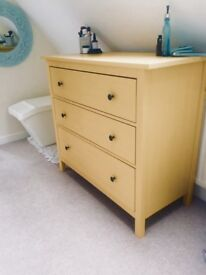 Cheerful yellow chest of drawers! Ikea Hemnes collection. Listing 2 if these chest of drawers!