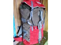 Phoenix Berghuas climbing trekking canvas rucksack 55l