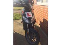 50cc Aprilla Sportcity Moped