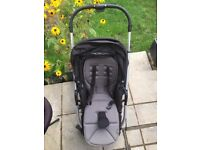 Mammas & Pappas Buggy with adaptable carrycot