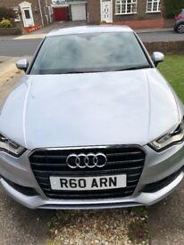 Audi A3 Sline 2ltr desiel metallic silver
