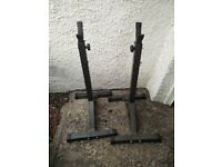 Weight Stands (Squat Stands)