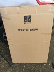 Freja grey 3ft bed frame