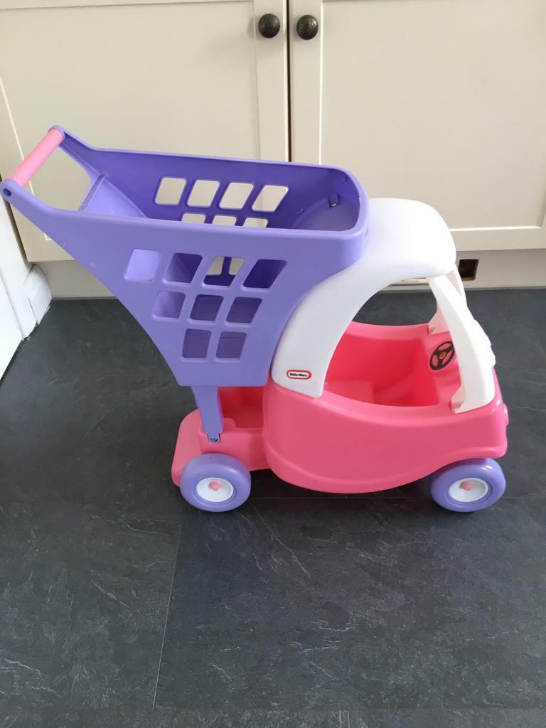 Little tikes crazy coupe shopping cart