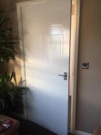 Internal White Doors x2 (wide).