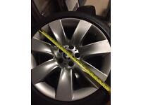 Pirelli Run Flat Winter Tyres 245/45 R19 and BMW Alloys