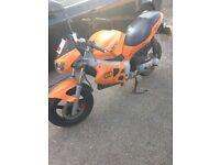Ideal starter bike Gilera DNA 50cc for sale,full MOT