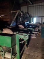 Complete Dispersal of Wood Mill equipment.Owner open to offers