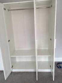 2 x Large wardrobes for sale