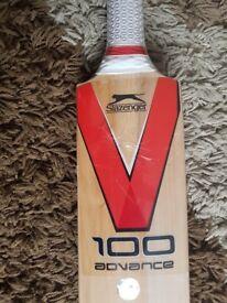 New Slazenger cricket bat