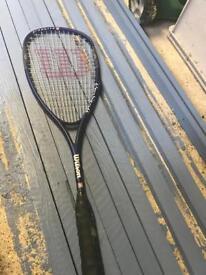 Wilson pro staff graphite squash racket