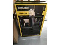 Youngman Telescopic Ladder 3.3m BRAND NEW IN BOX - £120