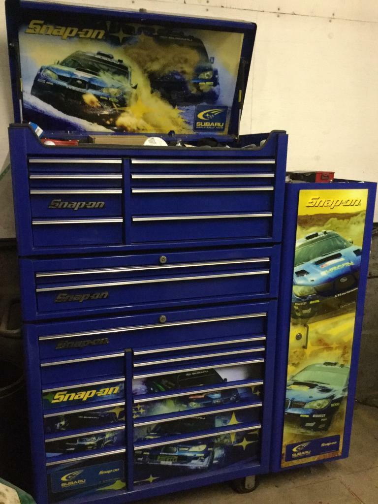 Snap on Subaru toolbox ltd edition | in Dundee | Gumtree