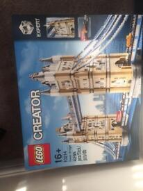 New and sealed Lego sets